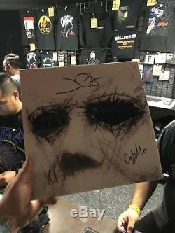 SIGNED Halloween 2018 Sacred Bones Limited To 500 Vinyl LP Blood Splatter