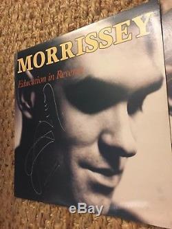 SIGNED MORRISSEY EDUCATION IN REVERSE VERY RARE VINYL 12 LP. Australian Pressed