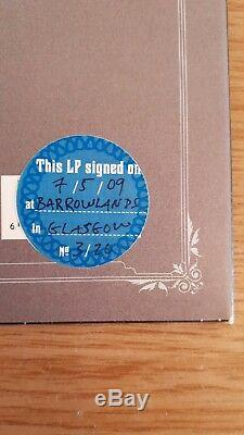 SIGNED Morrissey Vinyl LP Years Of Refusal Authentic Glasgow Barrowlands 3/20
