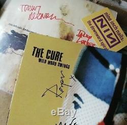 SIGNED OG Garbage Vinyl Shirley Manson Duke Erikson Butch Vig Pulp Oasis Nirvana