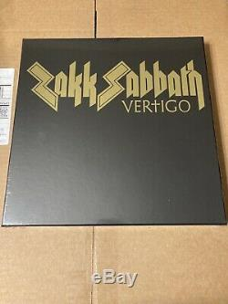 SIGNED Zakk Sabbath Vertigo Box Vinyl LP CD DVD Book black wylde ozzy osbourne