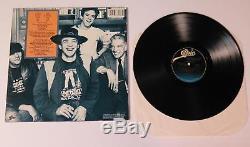 STEVIE RAY VAUGHAN Signed Autograph Texas Flood Album Vinyl Record LP