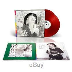 Sarah Connor Herz Kraft Werke rote red 2LP Vinyl Signiert signed new pre order