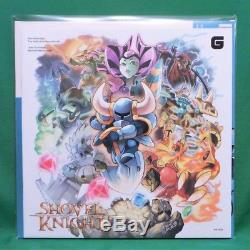 Shovel Knight The Definitive Soundtrack Vinyl Record 2xLP Signed Japan Edition