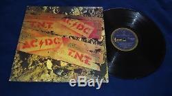 Signed AC/DC T. N. T. Blue Roo Aussie 1st Press Vinyl LP Record x5 withBON & MALCOLM