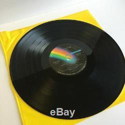 Signed Elton John Goodbye Yellow Brick Road Vinyl