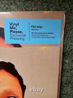 Signed FKA Twigs Magdalene LIMITED VinylMePlease VMP Smoky Marble Blue Vinyl