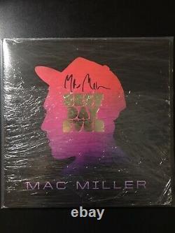 Signed Mac Miller Best Day Ever Vinyl