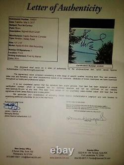 Signed Paul McCartney Abbey Road Autograph Vinyl Record JSA LOA