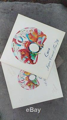 Signed Queen A Night At The Opera Vinyl Record full band autographed