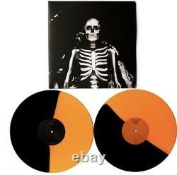 Signed Setlist The Maine Forever Halloween Orange & Black Split /1000 Vinyl Lp