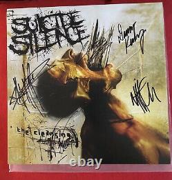 Signed Suicide Silence The Cleansing Limited/2000 CLEAR Vinyl Mitch Signed