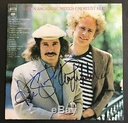 Simon And Garfunkel's Greatest Hits LP Vinyl Autographed By Both