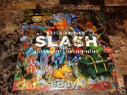 Slash & Myles Kennedy Rare Signed World On Fire Vinyl Record Guns N' Roses + COA