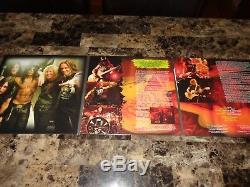 Slash Signed Made In Stoke Live Triple Colored Vinyl LP Record Guns N' Roses COA