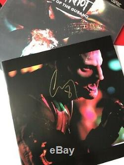 Slipknot Day of the Gusano AUTOGRAPHED Triple Red Vinyl