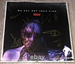 Slipknot X9 Signed Autograph We Are Not Your Kind Vinyl Album Corey Taylor +8