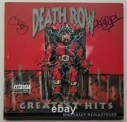 Snoop Dogg & Kurupt Signed Death Row Greatest Hits Vinyl Record Rare LEGEND RAD