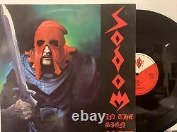 Sodom In The Sign Of Evil LP 1985 Devil's Game DG-Nr. 001 VG+/VG+ Germany