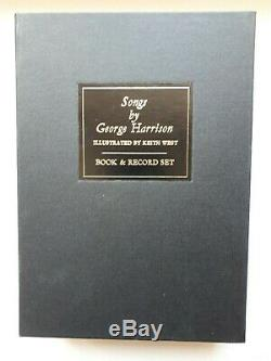 Songs by George Harrison. Vol. 1 + 2 NUMBERED. SIGNED. VINYL EDITIONS