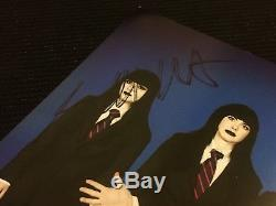 Stephen Colbert Jack White Signed Autographed 7 Vinyl Tri Color Stripes TMR