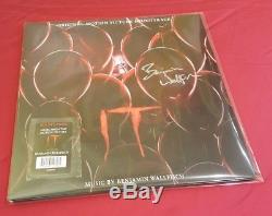 Stephen King's IT Soundtrack 2X Double LP Vinyl Signed Benjamin Wallfisch Auto