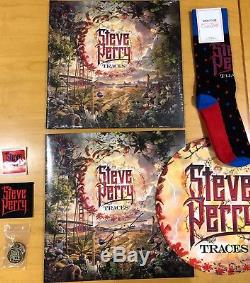 Steve Perry Traces Autographed Vinyl And More