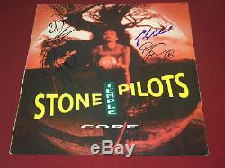 Stone Temple Pilots Signed Core Lp Vinyl X4 Scott Weiland Proof