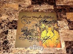 Stone Temple Pilots Signed High Rise 10 Vinyl EP Chester Bennington Linkin Park