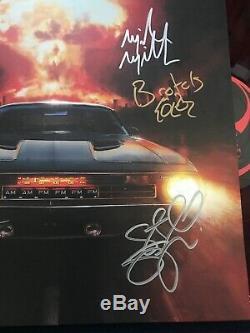 Sturgill Simpson signed Sound & Fury vinyl record album anime X4 LP proof RED