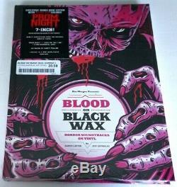 Szpirglas Signed BLOOD ON BLACK WAX 2019 RSD NEW Sealed Book 7 Vinyl Prom Night