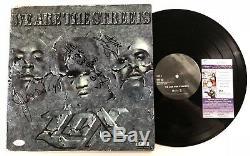 THE LOX signed VINYL RECORD LP WE ARE THE STREETS Rap Jadakiss Styles P JSA