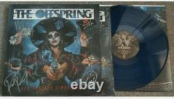 THE OFFSPRING Let The Bad Times Roll Sky Blue Vinyl SIGNED