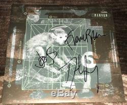 THE PIXIES SIGNED AUTOGRAPH DOOLITTLE VINYL ALBUM BLACK FRANCIS +2 withEXACT PROOF