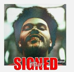 THE WEEKND Autographed SIGNED After Hours 12 Vinyl (not cd) Record LP weekend