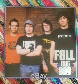 Take This To Your Grave, Fall Out Boy, Autographed, First Pressing, Black, Vinyl