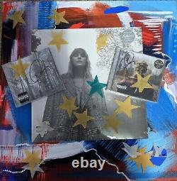 Taylor Swift Folklore evermore vinyl 2LP & Signed autographed CDs clandestine