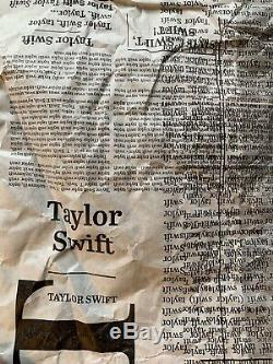 Taylor Swift Signed 12 Vinyl Record Set (3) Bold Autograph /250 Limited Edition