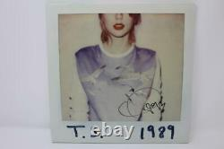 Taylor Swift Signed Autograph Album Vinyl Record 1989 Lover, Folklore, Red Jsa