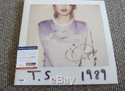 Taylor Swift Signed Vinyl