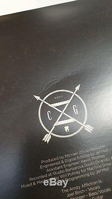 The Amity Affliction TAA Chasing Ghosts LP VINYL 12 BLACK signed