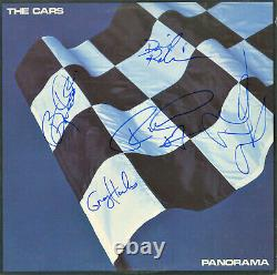 The Cars, Paranorma SIGNED Vinyl Record by all 5 in 87, Benjamin Orr