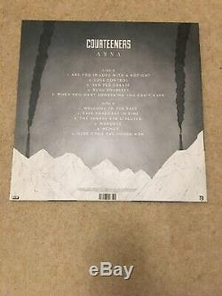 The Courteeners ANNA VINYL LP SIGNED SLEEVE & SEALED COPY WITH CD MINT