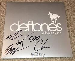 The Deftones Signed Autograph White Pony Vinyl Album Chino Moreno +4 Exact Proof