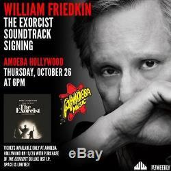 The Exorcist Signed Soundtrack Vinyl LP Autograph Linda Blair William Friedkin
