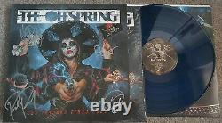 The Offspring Let The Bad Times Roll Vinyl LP. Blue/Black Marble SIGNED