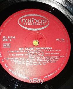 The Oldest Proffession Midas MR006 Folk RARE Signed Vinyl Record Lp 1972 Uk