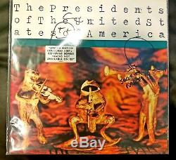 The Presidents of the United States of America Signed Limited Yellow Vinyl