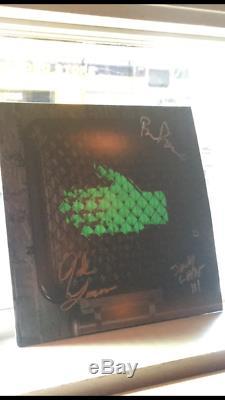 The Raconteurs Signed Help Us Stranger Vinyl (Jack White Autograph)
