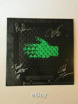 The Raconteurs Signed Help Us Stranger vinyl LP Jack White Brendan Benson rare